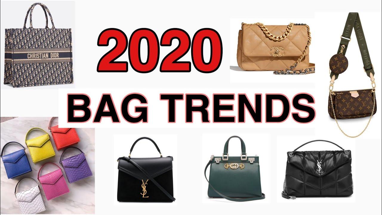 Bags 2020 Trends.เทรนกระเป ามาแรงป 2020 Bag Trends Alice Chen