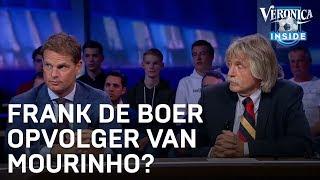 Frank de Boer tipt zichzelf als opvolger Mourinho