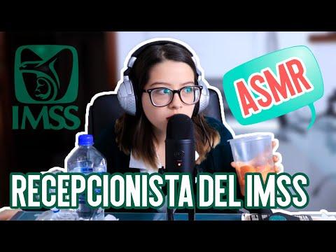 ASMR | RECEPCIONISTA DEL IMSS | ROLEPLAY