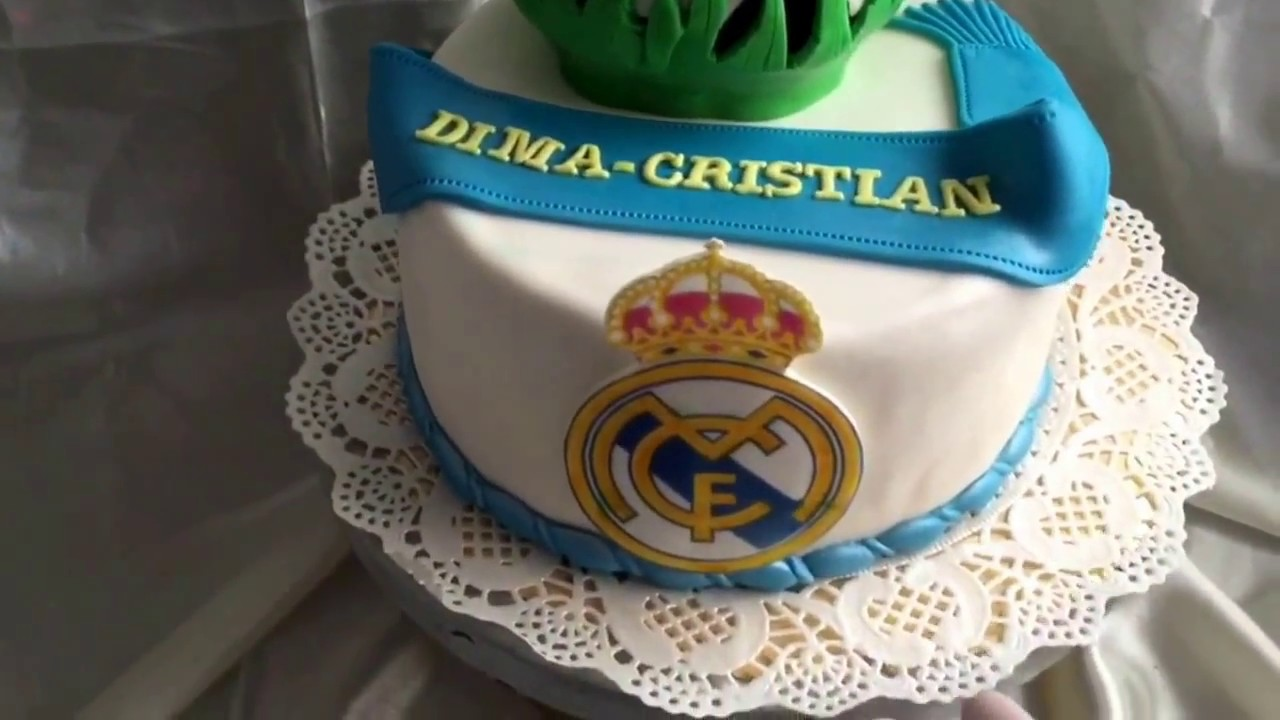 real madrid cake real madrid cake 6971