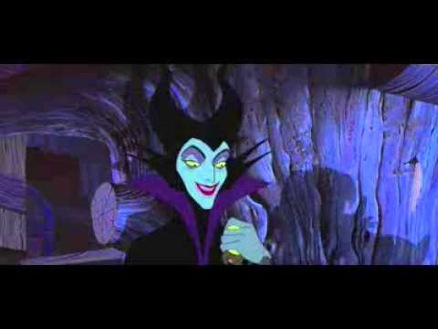 Sleeping Beauty - Philip trapped by Maleficent (English)