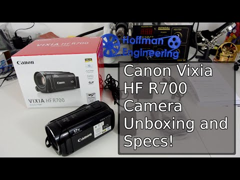 Canon VIXIA HF R700 - New Camera Specs
