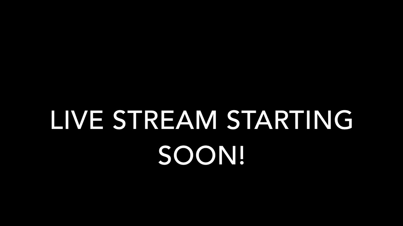 stream will start soon