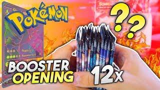 GX aus 12 Boostern ⚠️Nacht in Flammen #3🔥 Pokemon Display Opening | deutsch