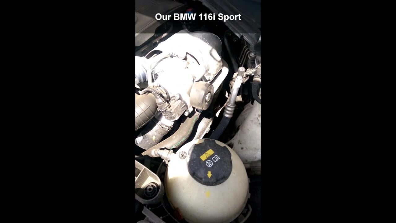 Bmw 116i problems