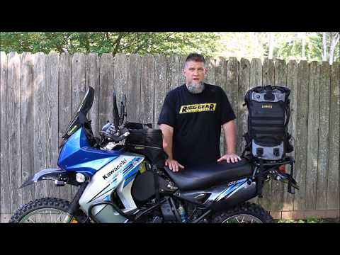 Nelson Rigg Hurricane BackPack as Tail Bag : SEAT Discovery Trip