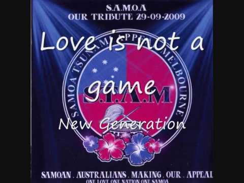 Love is not a game -  New Generation feat. Sam Feo