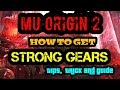 MU ORIGIN 2:WORLD BOSS SCHEDULE AND HOW TO GET STRONG GEARS (TIP, TRICKS, AND GUIDE)