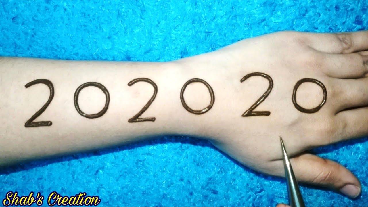 202020 Easy Arabic Mehndi Design for Full Hand