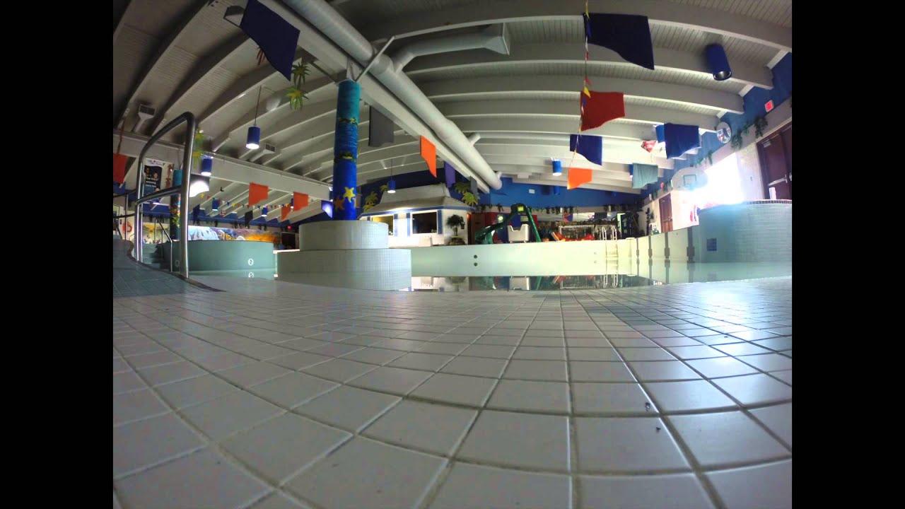 Time Lapse Filling The Tumbler Ridge Aquatic Centre Youtube