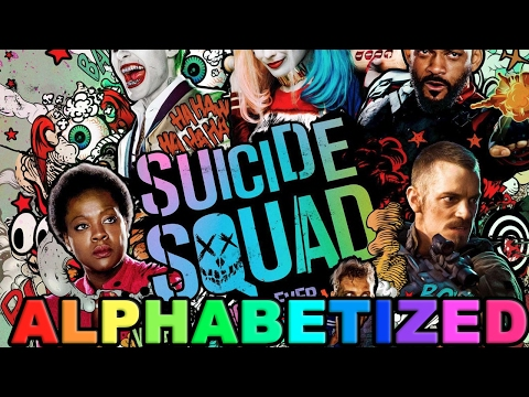 The Suicide Squad Trailer but EVERY WORD is Alphabetized