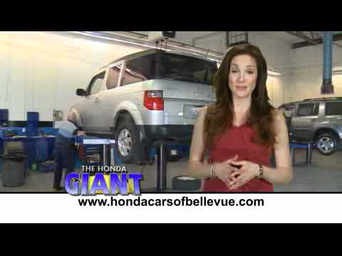 Service Department at Honda Cars of Bellevue in Omaha Nebraska (Oil Change,  Maintenance, Warranty)