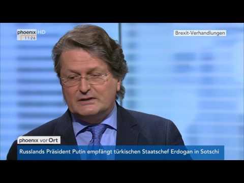 Brexit-Verhandlungen: Expertengespräch mit Grahame Lucas am 03.05.17