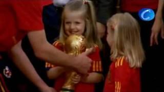 La Familia Real recibe a la Selección española