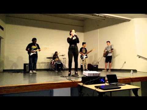Allison Academy talent show 2015- Time by Pink Floyd