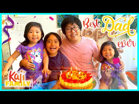 Surprise Daddy on Fathers Day with Kaji Family!