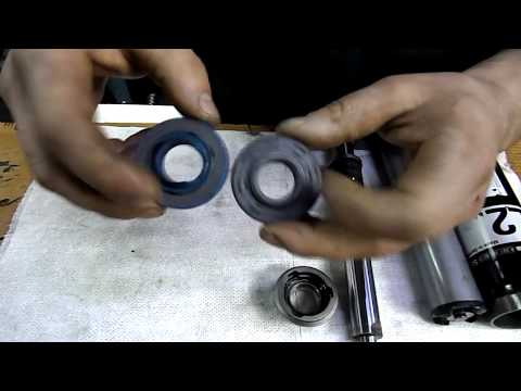 МЕРСЕДЕС 221 ремонт и устройство стоек системы ABC Mercedes-Benz (Мерседес Бенц)