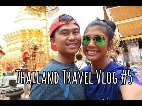 DOI SUTHEP, CHIANG MAI + TRAVELING TO PHUKET! | Thailand Travel Vlog