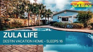 Destin Florida Vacation Rental - Zula Life BOOK NOW! www.ZulaBeach.com