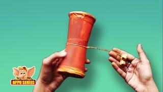 How to make a Damru - Arts & Crafts