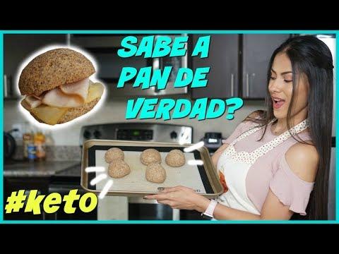 LA MEJOR RECETA DE PAN KETO - PAN CETOGÉNICO | SE PUEDE COMER PARA BAJAR DE PESO! | DIETA CETOGÉNICA