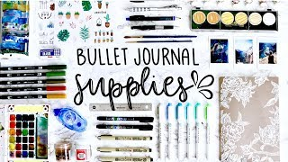My Bullet Journaling Supplies 💕