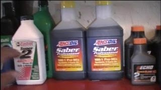 How To Mix 2 Stroke Fuel
