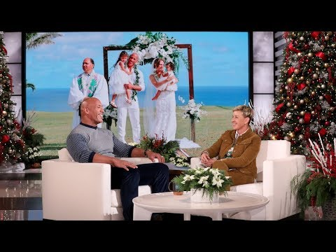 Dwayne Johnson On His Early-Morning, Magical Wedding