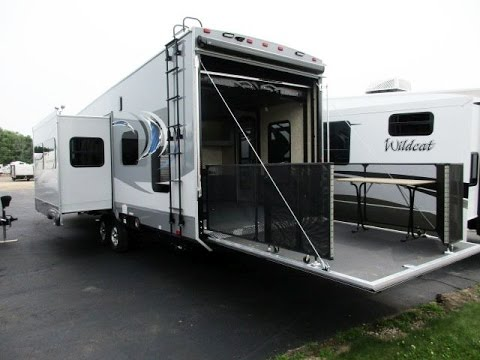 Haylettrv Com 2016 Highlander 31rgr Toy Hauler Travel