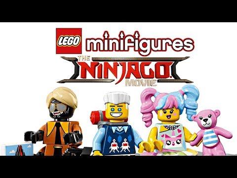 LEGO Ninjago Movie Minifigures Series pictures!