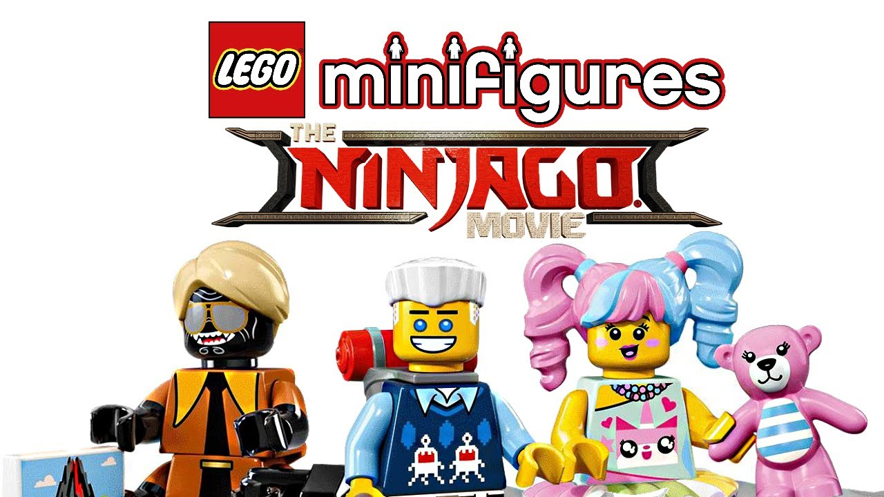 Lego Ninjago Movie Minifigures Series Pictures Youtube