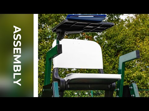 Aluminium Tennis Umpires Chair Assembly
