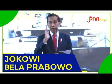 Jokowi: Yang Kritik Prabowo tidak Paham Diplomasi Pertahanan