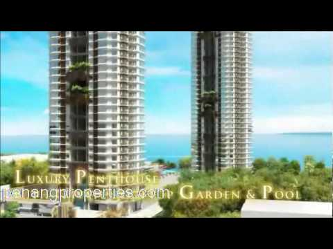 Malaysia Property - A luxury penthouse with private roof-top garden, Penang Malaysia