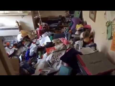 Extreme House Clearance London Case Study Before Video