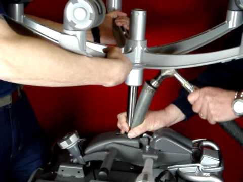 Office chair gas cylinder removal - Part 1 - YouTube