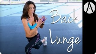BACK LUNGE: 1 Minute Challenge | Autumn Fitness