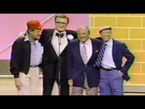 Steve Allen Don Knotts Tom Poston Bill Dana Comic Relief '87 1987