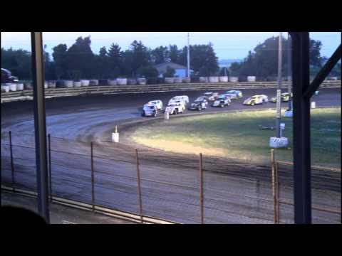 7/14/15 Nobles County Speedway IMCA Modified Feature