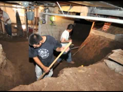 Crawlspace conversion process youtube for Convert crawlspace to basement cost