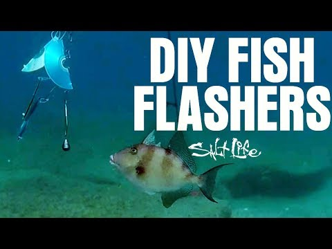 I Made My Own Fish Flashers | Salt Life