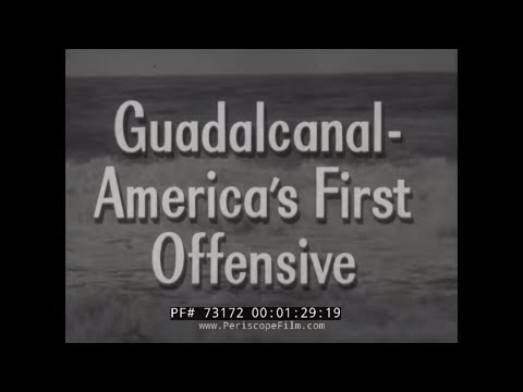 """CRUSADE IN THE PACIFIC TV SHOW EPISODE 7 """"Guadalcanal: America's First Offensive""""  73172"""
