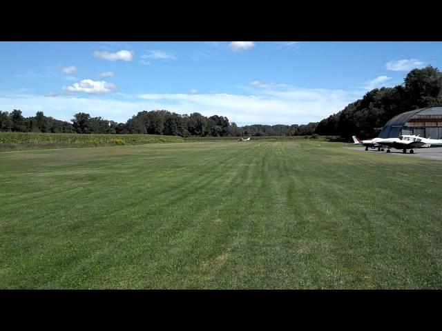 Trinca Airport 13N Takeoff