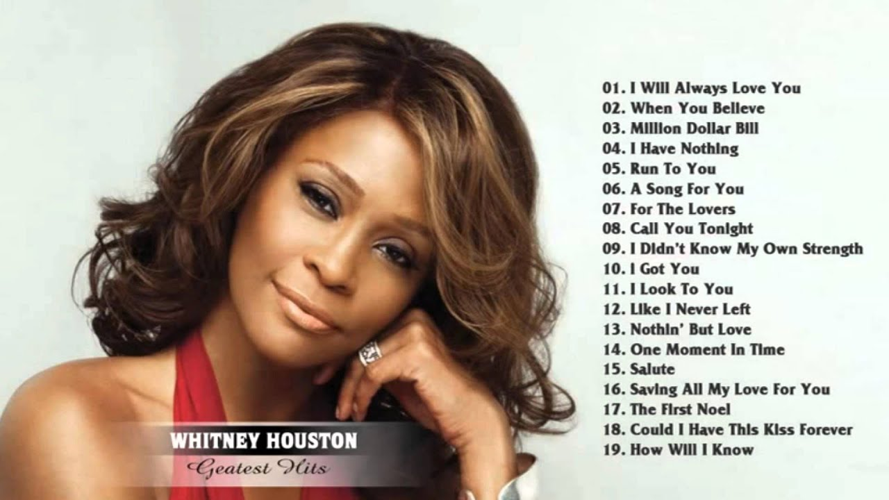 Top 20 Best Whitney Houston Songs - ThoughtCo