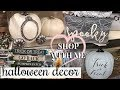 SHOP WITH ME HALLOWEEN HOME DECOR 2018! | HOME GOODS & TARGET!