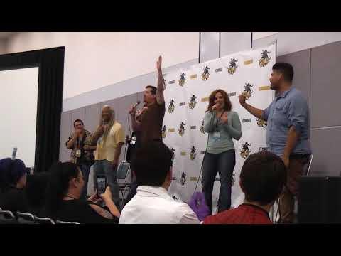Stan Lee LA Comic Con (Day 3) - Revenge of the Voice Actors Comedy Improv!