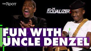 We Asked Denzel Washington To Do The #InMyFeelingsChallenge