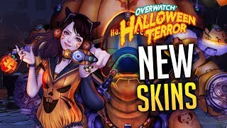 OVERWATCH - LEAKED 2018 Halloween Event Skins?!