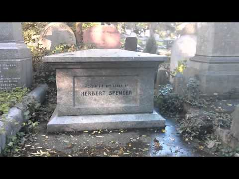 Graves of Karl Marx and Herbert Spencer