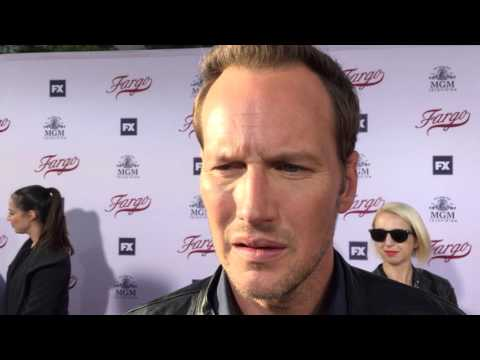 "Patrick Wilson chats on the ""Fargo"" red carpet for an Emmy voter FYC screening"